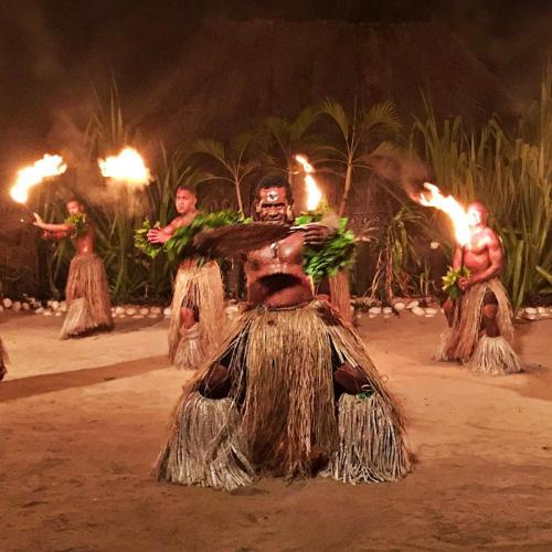 Dancers at Robinson Crusoe Island